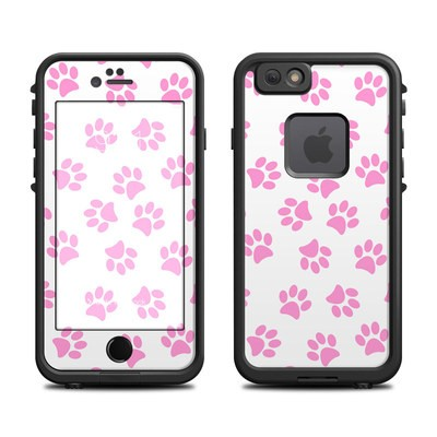 Lifeproof iPhone 6 Fre Case Skin - Cat Paws