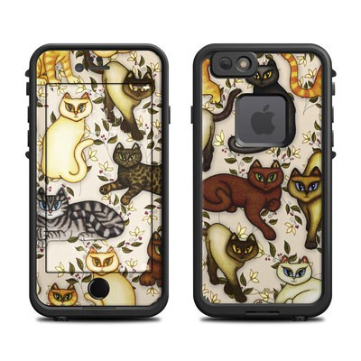 Lifeproof iPhone 6 Fre Case Skin - Cats