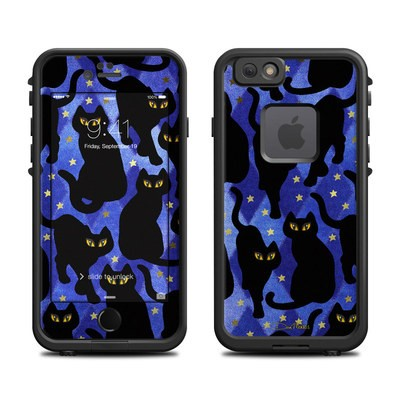 Lifeproof iPhone 6 Fre Case Skin - Cat Silhouettes