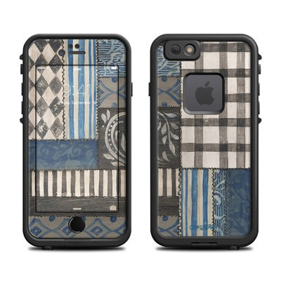 Lifeproof iPhone 6 Fre Case Skin - Country Chic Blue