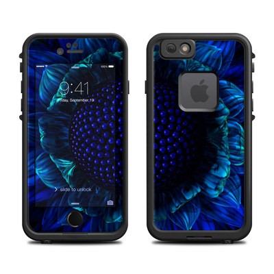 Lifeproof iPhone 6 Fre Case Skin - Cobalt Daisy