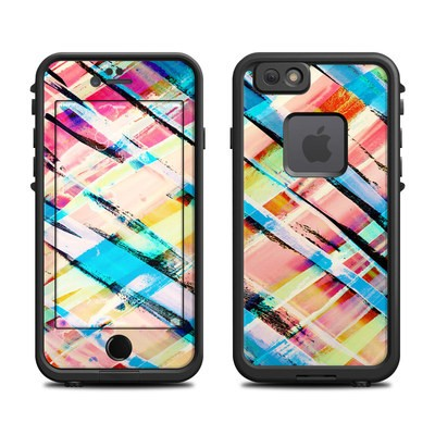 Lifeproof iPhone 6 Fre Case Skin - Check Stripe