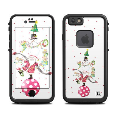 Lifeproof iPhone 6 Fre Case Skin - Christmas Circus