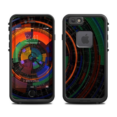 Lifeproof iPhone 6 Fre Case Skin - Color Wheel