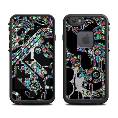 Lifeproof iPhone 6 Fre Case Skin - Circle Madness
