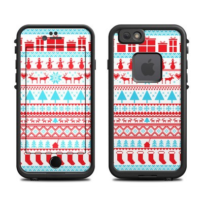 Lifeproof iPhone 6 Fre Case Skin - Comfy Christmas