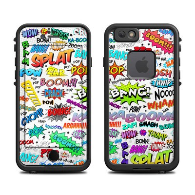 Lifeproof iPhone 6 Fre Case Skin - Comics