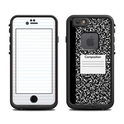 Lifeproof iPhone 6 Fre Case Skin - Composition Notebook