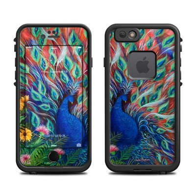 Lifeproof iPhone 6 Fre Case Skin - Coral Peacock