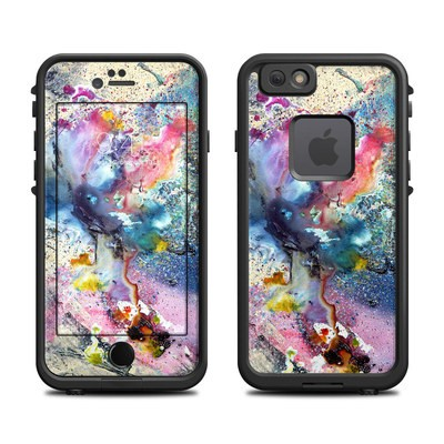 Lifeproof iPhone 6 Fre Case Skin - Cosmic Flower