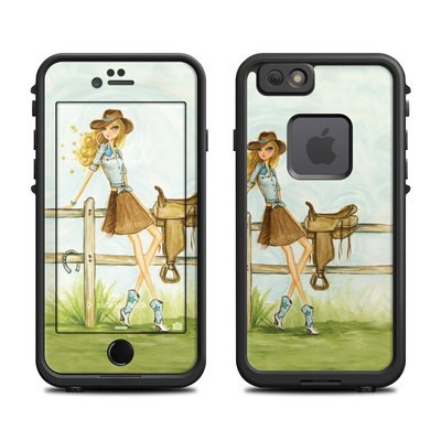 Lifeproof iPhone 6 Fre Case Skin - Cowgirl Glam