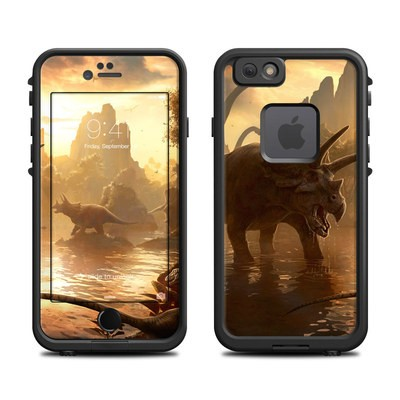 Lifeproof iPhone 6 Fre Case Skin - Cretaceous Sunset