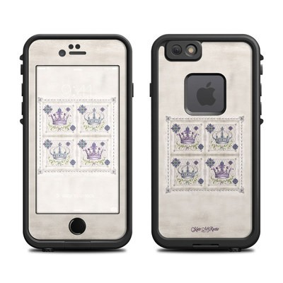 Lifeproof iPhone 6 Fre Case Skin - Purple Crown