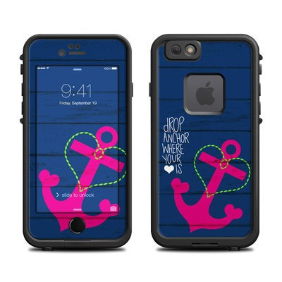 Lifeproof iPhone 6 Fre Case Skin - Drop Anchor