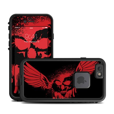 Lifeproof iPhone 6 Fre Case Skin - Dark Heart Stains