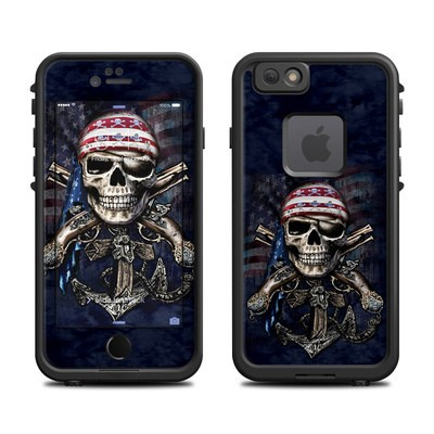 Lifeproof iPhone 6 Fre Case Skin - Dead Anchor
