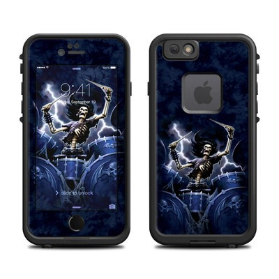 Lifeproof iPhone 6 Fre Case Skin - Death Drummer