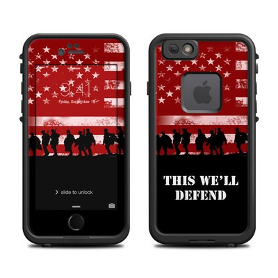 Lifeproof iPhone 6 Fre Case Skin - Defend