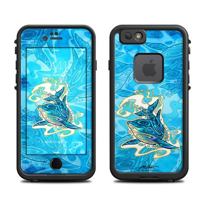Lifeproof iPhone 6 Fre Case Skin - Dolphin Daydream