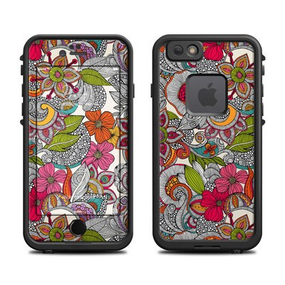 Lifeproof iPhone 6 Fre Case Skin - Doodles Color