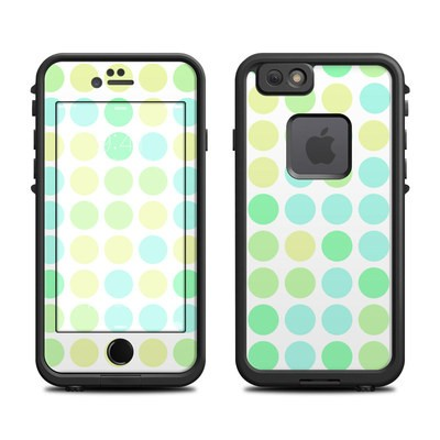 Lifeproof iPhone 6 Fre Case Skin - Big Dots Mint