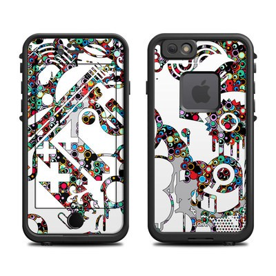 Lifeproof iPhone 6 Fre Case Skin - Dots