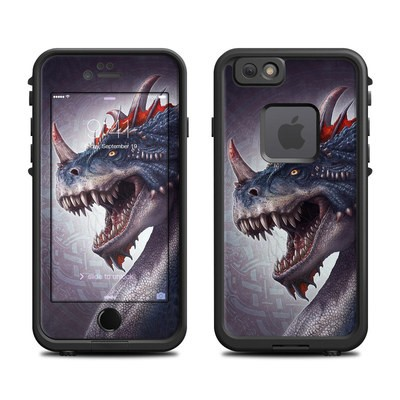 Lifeproof iPhone 6 Fre Case Skin - Dracosaurus Rex