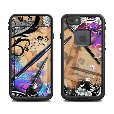 Lifeproof iPhone 6 Fre Case Skin - Dream Flowers