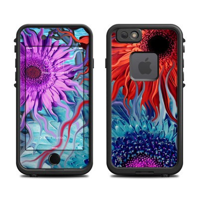 Lifeproof iPhone 6 Fre Case Skin - Deep Water Daisy Dance