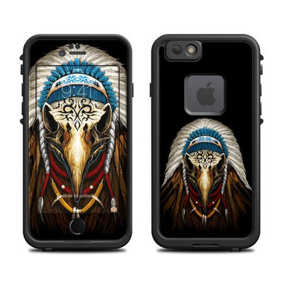 Lifeproof iPhone 6 Fre Case Skin - Eagle Skull