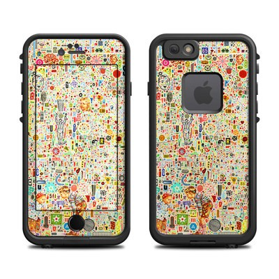 Lifeproof iPhone 6 Fre Case Skin - Effloresce