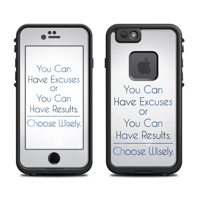 Lifeproof iPhone 6 Fre Case Skin - Excuses or Results