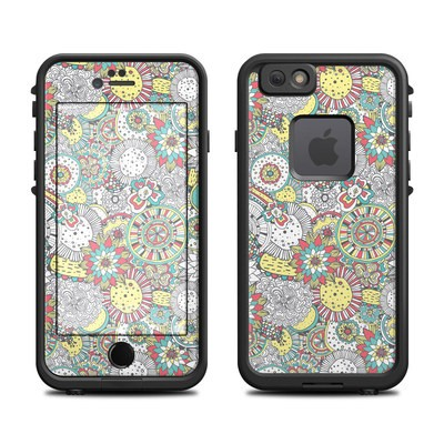 Lifeproof iPhone 6 Fre Case Skin - Faded Floral