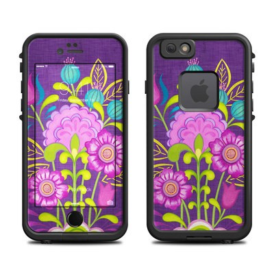 Lifeproof iPhone 6 Fre Case Skin - Floral Bouquet