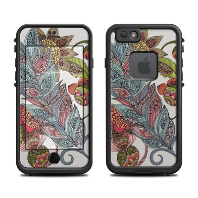 Lifeproof iPhone 6 Fre Case Skin - Feather Flower