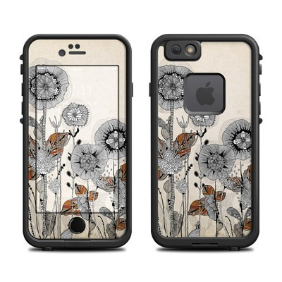 Lifeproof iPhone 6 Fre Case Skin - Four Flowers