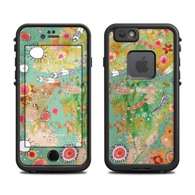 Lifeproof iPhone 6 Fre Case Skin - Feathers Flowers Showers