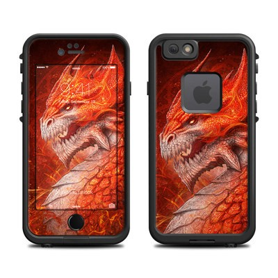 Lifeproof iPhone 6 Fre Case Skin - Flame Dragon