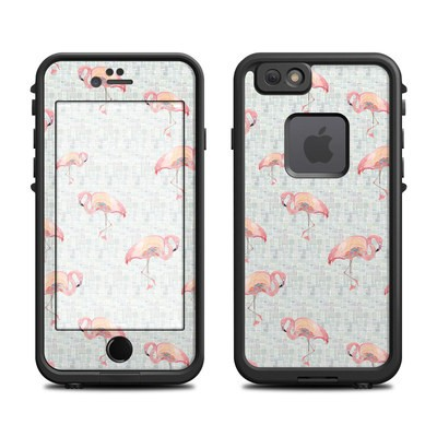 Lifeproof iPhone 6 Fre Case Skin - Flamingo Mosaic