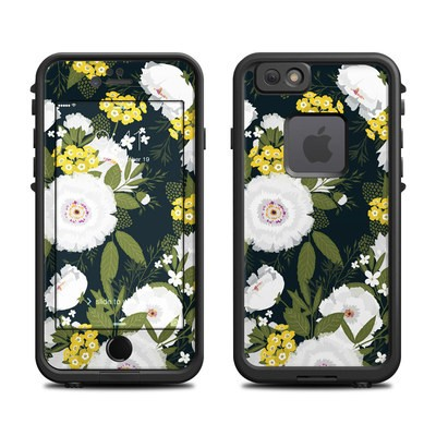 Lifeproof iPhone 6 Fre Case Skin - Fleurette Night