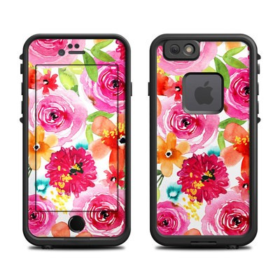 Lifeproof iPhone 6 Fre Case Skin - Floral Pop
