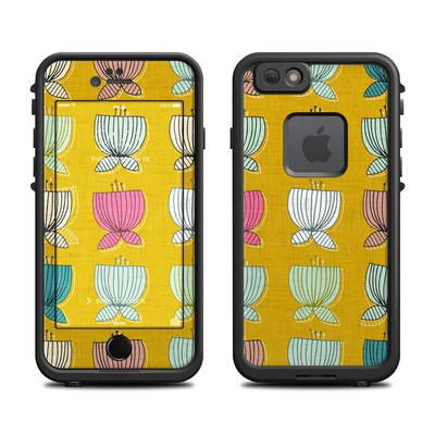 Lifeproof iPhone 6 Fre Case Skin - Flower Cups