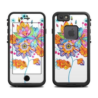 Lifeproof iPhone 6 Fre Case Skin - Flowers Bouquet