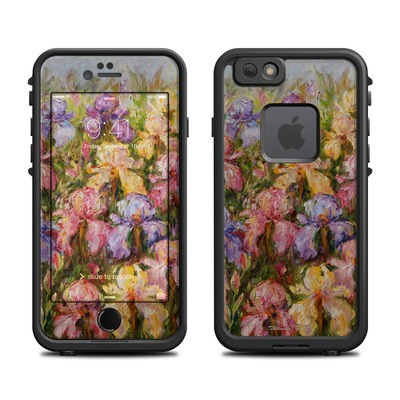 Lifeproof iPhone 6 Fre Case Skin - Field Of Irises