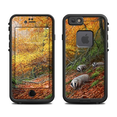 Lifeproof iPhone 6 Fre Case Skin - Forest Gold