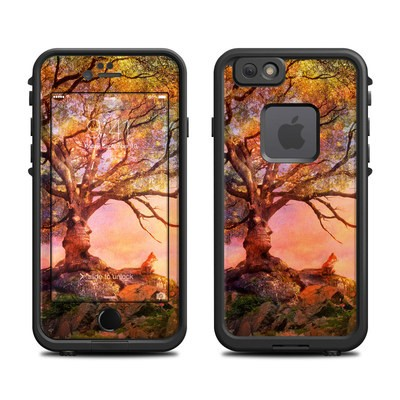 Lifeproof iPhone 6 Fre Case Skin - Fox Sunset