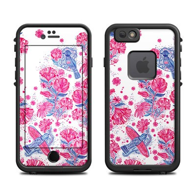 Lifeproof iPhone 6 Fre Case Skin - Freedom Flowers
