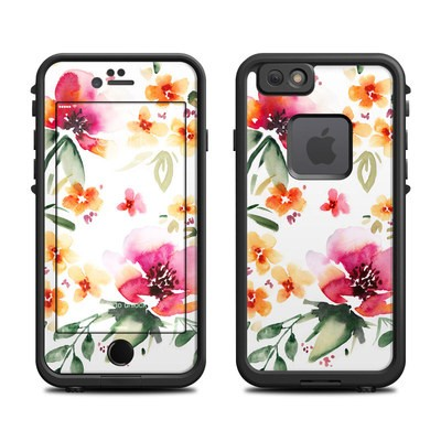 Lifeproof iPhone 6 Fre Case Skin - Fresh Flowers