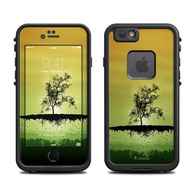 Lifeproof iPhone 6 Fre Case Skin - Flying Tree Amber