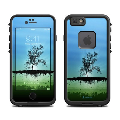 Lifeproof iPhone 6 Fre Case Skin - Flying Tree Blue